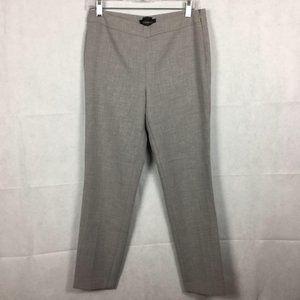 Talbots Chatham Gray Slim Dress Pants Sz 8P